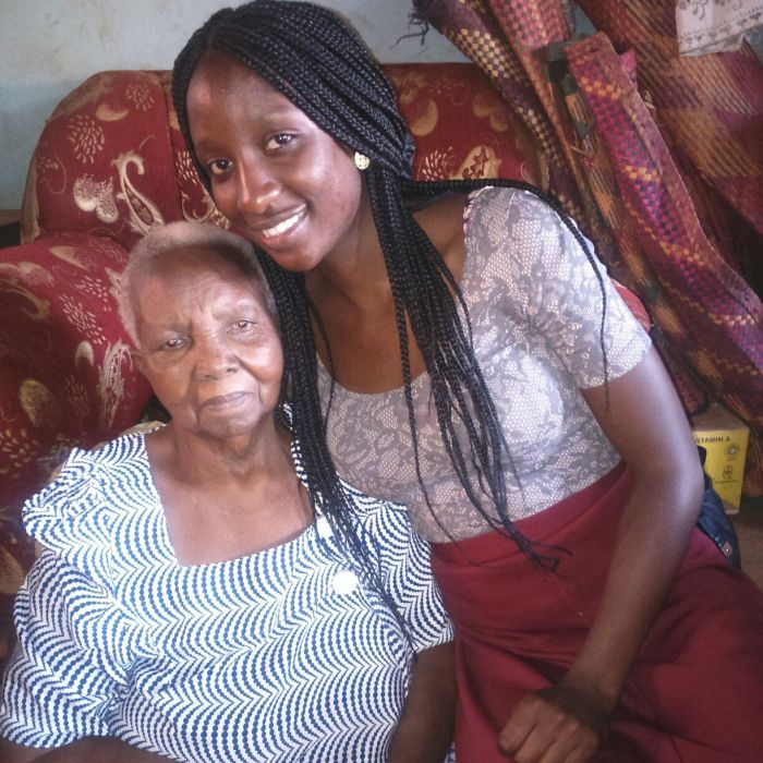 Last time I saw my grandmother, April 2015